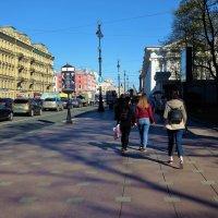 Весна на Невском проспекте... :: Sergey Gordoff