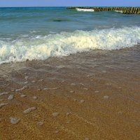 Прибрежная волна :: Сергей Карачин