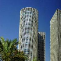Тель Авив.  Башни Азриэли. :: Надя Кушнир