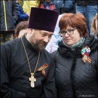 Священник и учитель. :: Александр Иванов