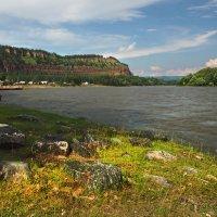 Стоит село Шаманка на берегу реки... :: Александр Попов