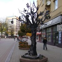 Кованая   скульптура   Ивано - Франковска :: Андрей  Васильевич Коляскин