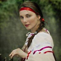 РУССКАЯ КРАСАВИЦА... :: Алексей Лебедев