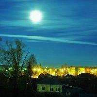 лунный вечер :: геннадий щербак