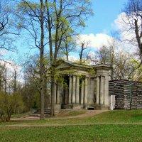 Березовый домик в гатчинском парке. :: Валерия Яскович
