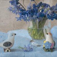 И птички поют о весне :: Элен .