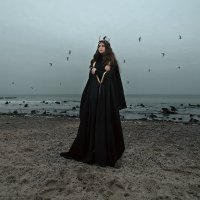 Муза с солёного берега :: Анна Анхен