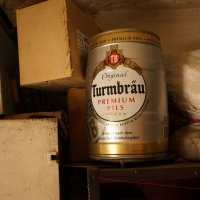 Жестяной бочонок из под пива :: Boris Trikhleb