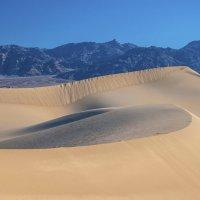 Долина Смерти, Калифорния, плоские дюны Мескит. :: Светлана Риццо