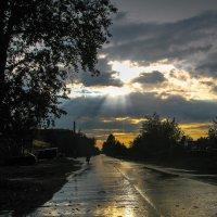 После грозы, на закате :: Марина Ломина