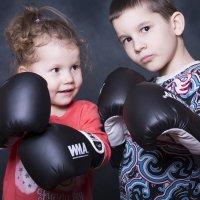 Юные боксеры :: Владимир Ананьевский