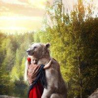 Девушка и Медведь :: Вилена Романова