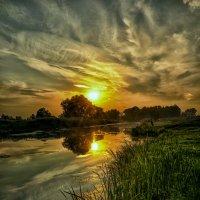 Женщины никогда не поймут что в рыбалке самое главное... :: Александр Бойко