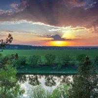 Май, закат... :: Юрий Стародубцев