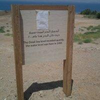 Стремительная степень обмельчания реликтового Мертвого моря. :: Жанна Викторовна