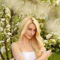 весенний портрет. яблонь цвет :: Юрий Сидоров