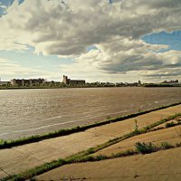 Облака на Окой :: Андрей Головкин