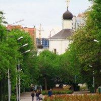 городская аллея :: Павел Чернов