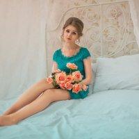 С розами :: Kristina Ipatova