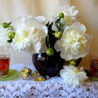 Пион в нарядных кружевах как летний праздник... :: Тамара (st.tamara)