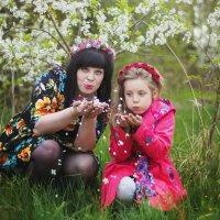 Мама и дочка :: Каролина Савельева