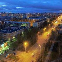 ночные улицы (Сургут) :: Олег Петрушов
