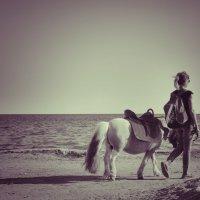 Девушка с пони :: Александр Довгий