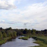 А внизу течёт река... :: Александр Генрихович Завьялов