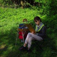 Юная художница :: Андрей Лукьянов