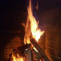 красивый огонь.г.Чегем :: Олеся Сологова