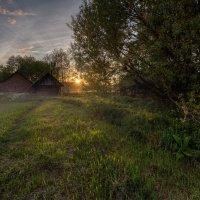 Вечер в деревне :: Александр Попков