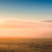 Карелия. Туманное утро. :: Владимир Лазарев