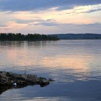 Вечер. Озеро Чебаркуль... :: Дмитрий Петренко