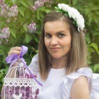 Сиреневые оттенки счастья :: Евгения Рузанова
