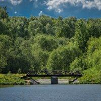 Пруд в селе Рождествено. :: Владимир Безбородов