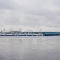 Новочебоксарская ГЭС во время тумана :: Светлана