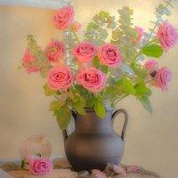 натюрморт с розами :: татьяна
