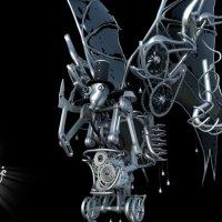 Steampunk robot :: alexlexs Солопанов
