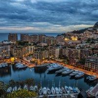 Evening in Monaco :: Dmitry Ozersky
