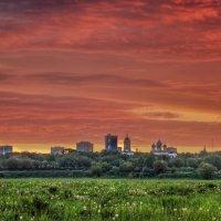 Рассвет над городом . :: Va-Dim ...