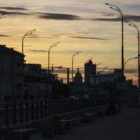 Закат в городе. :: Svetlana