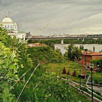 Купола Благовещенского собора :: Андрей Головкин