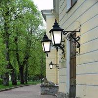 Фонари парка в Павловске :: Валерий Подорожный