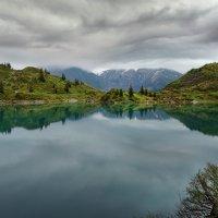 ...то ли озеро в небе плывет :: Elena Wymann