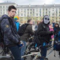 Северодвинск. Велопарад (2) :: Владимир Шибинский