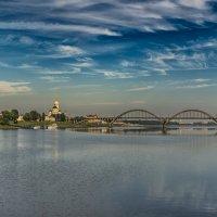 Утренний Рыбинск :: Valeriy Piterskiy