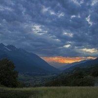 Закат в Альпах. :: Светлана Риццо