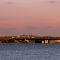 Бердский мост. :: Мила Бовкун