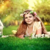 маленькая фея цветов :: Фотохудожник Наталья Смирнова
