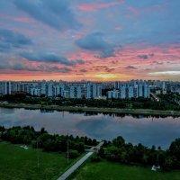Закат над Москвой-рекой :: Анатолий Колосов